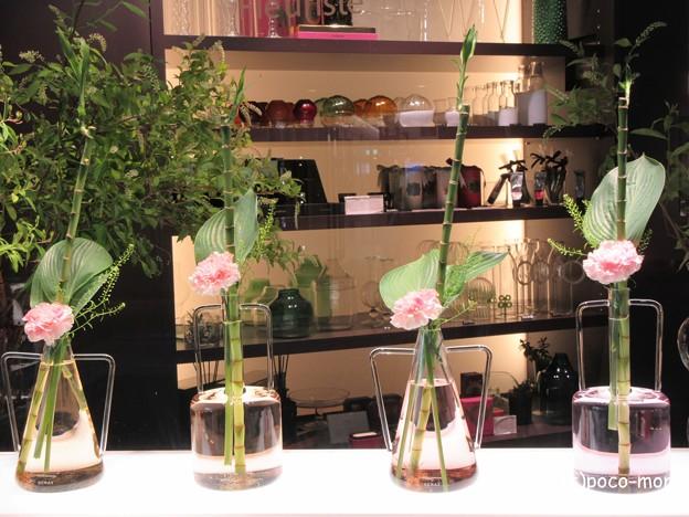 渋谷bunkamura フラワーショップ エルベシャトランのウィンドウ IMG_0847