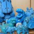 Blue Hippo 青カバ ウィリアム blue hippopotamus