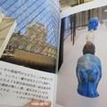 ルーヴル美術館の青カバ IMG_12751