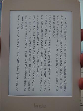 Kindle Paperwhite Wi-Fi + 3G、ホワイト  DSC_0420