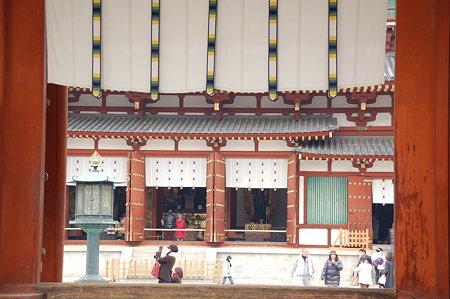 奈良薬師寺 テンプルカーテン