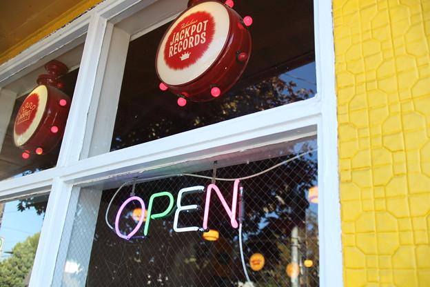 Vintage shop in Portland