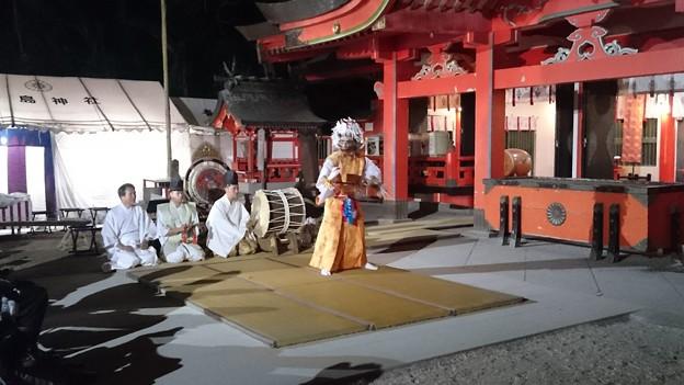 平成27年青島神社新春の禊 裸まいり前夜祭10