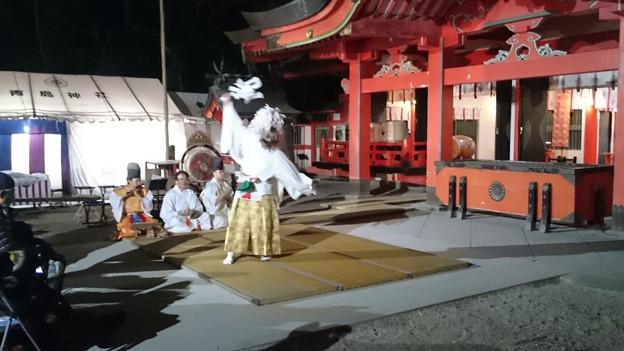 平成27年青島神社新春の禊 裸まいり前夜祭12