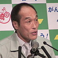 写真: 東国原英夫宮崎県知事退任式1