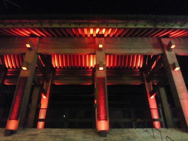 北御堂ライトアップ(2)