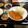 写真: 20171111_トンカツ定食 _0376