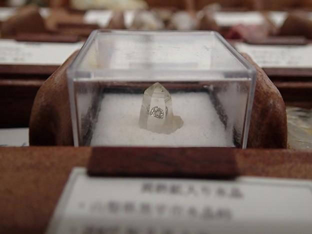 黄鉄鉱入り水晶