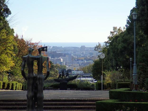 公園からの眺め