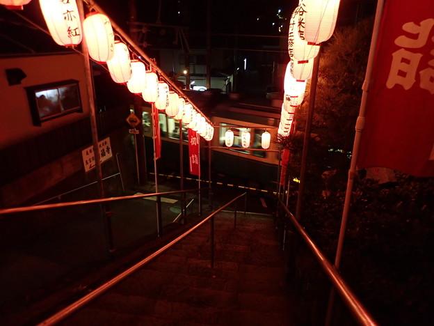 満福寺からの江ノ電