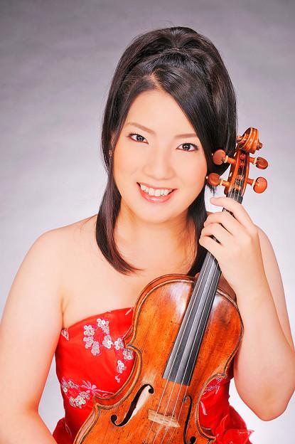 会田莉凡 あいだりぼん ヴァイオリン奏者 ヴァイオリニスト   Ribon Aida
