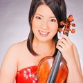 写真: 会田莉凡 あいだりぼん ヴァイオリン奏者 ヴァイオリニスト   Ribon Aida