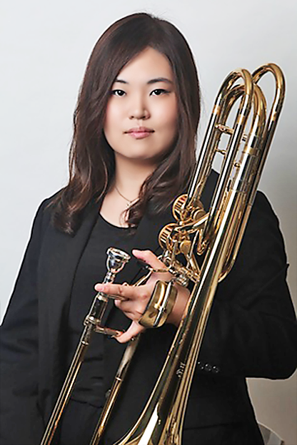 山口泰子 やまぐちやすこ トロンボーン 、バス・トロンボーン奏者 Yasuko Yamaguchi
