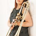 写真: 山口泰子 やまぐちやすこ トロンボーン 、バス・トロンボーン奏者 Yasuko Yamaguchi