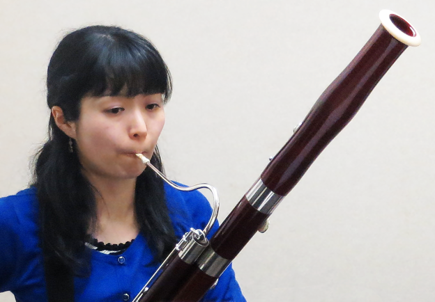 柄澤芙由子 からさわふゆこ ファゴット奏者          Fuyuko Karasawa