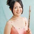 写真: 金田桃子 かねだももこ フルート奏者  Momoko Kaneda