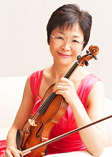 神山みどり かみやまみどり ヴァイオリン奏者 ヴァイオリニスト  Midori Kamiyama