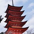 写真: 豊国神社五重塔