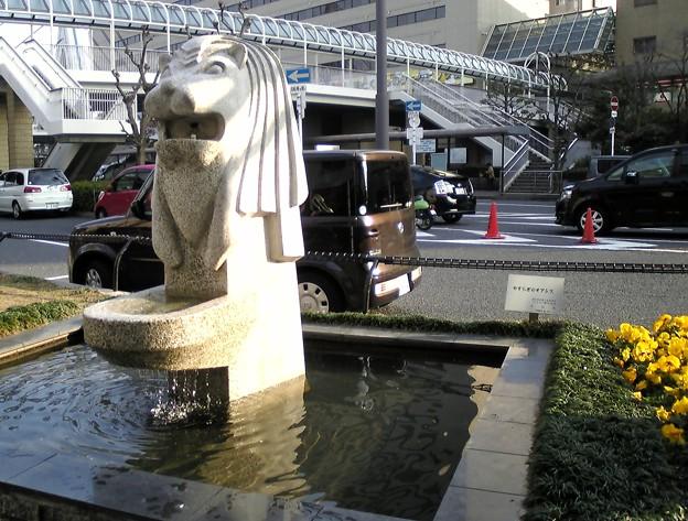 大阪のマーライオン