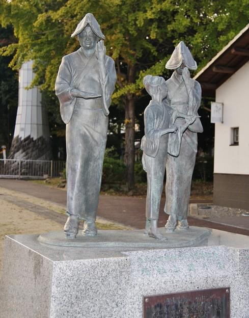 福知山踊り像