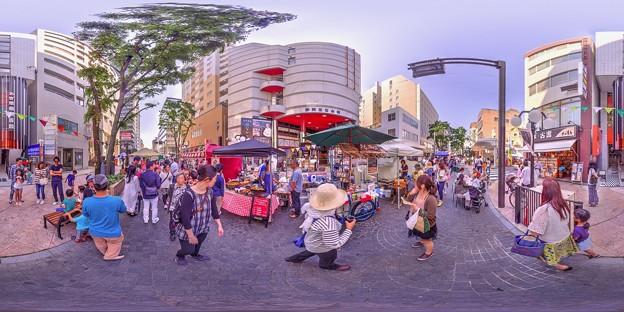 シズオカ×カンヌウイーク2017 「街角のマルシェ」七間町会場 360度パノラマ写真(2)HDR
