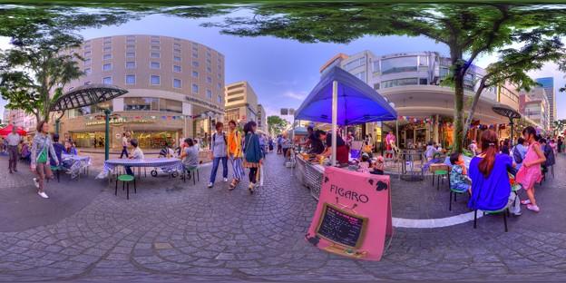 シズオカ×カンヌウイーク2017 「街角のマルシェ」七間町会場 360度パノラマ写真(3) HDR