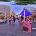 Photos: シズオカ×カンヌウイーク2017 「街角のマルシェ」七間町会場 360度パノラマ写真(3) HDR