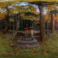 写真: 洞慶院 紅葉  360度パノラマ写真〈3〉