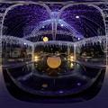 写真: 青葉シンボルロード イルミネーション 360度パノラマ写真〈2〉