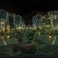写真: 青葉シンボルロード イルミネーション 360度パノラマ写真〈4〉