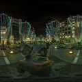 Photos: 青葉シンボルロード イルミネーション 360度パノラマ写真〈4〉