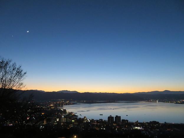 諏訪湖(カタワレ時)