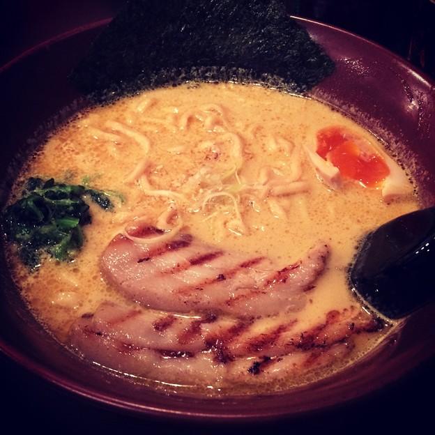 141205 しゅういち カレーチャーシュー麺