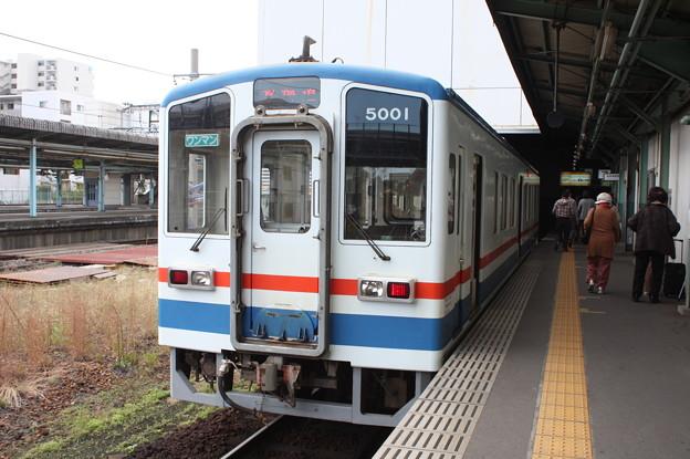 関東鉄道常総線 キハ5000形5001