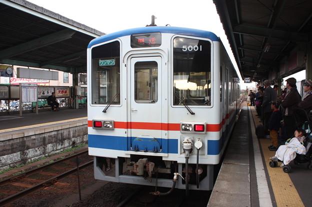関東鉄道 キハ5000形5001