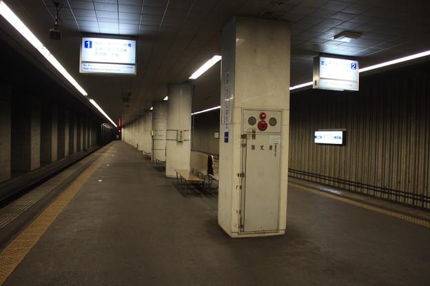 東成田駅 ホーム