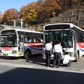 Photos: 関越交通 バッテリー整備中?