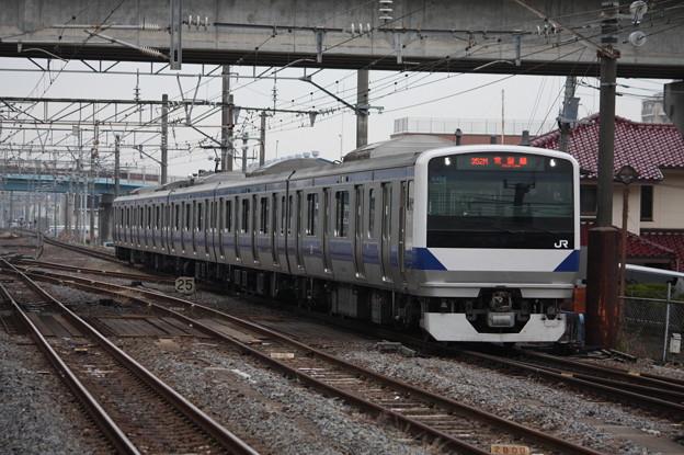 E531系K460編成 352M 普通上野行