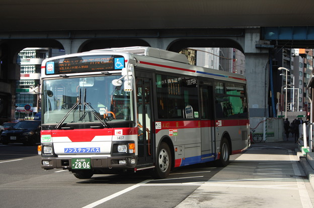 東急バス M1407