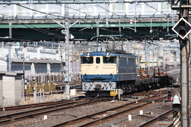 工9774レ 高崎操工臨 EF65 1104牽引