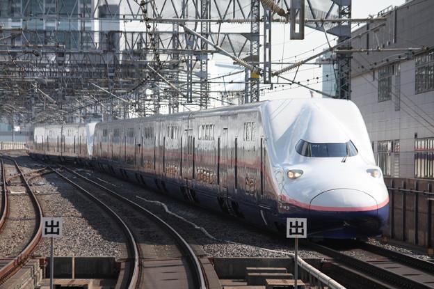 上越新幹線 E4系P51編成 新塗装