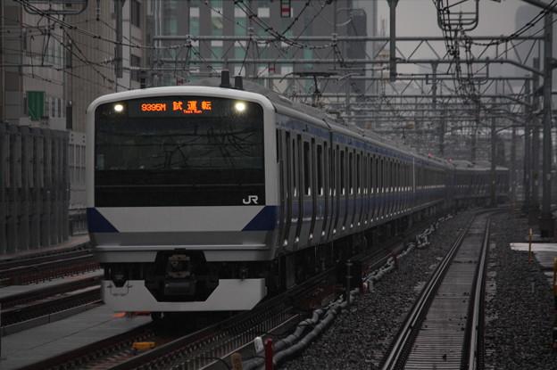 Photos: E531系K415+K470編成 試9395M 上野東京ライン試運転