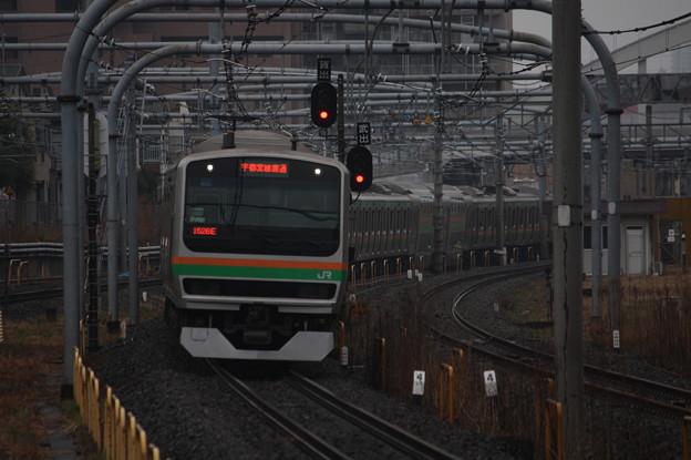 宇都宮線 E231系1000番台U118編成