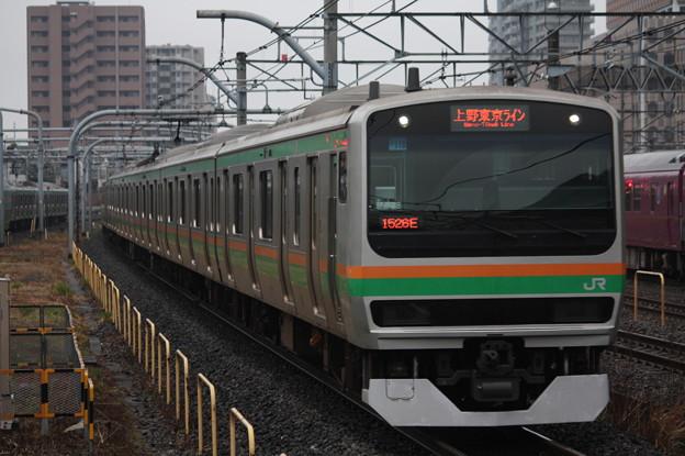 宇都宮線 E231系1000番台U118編成 (1)
