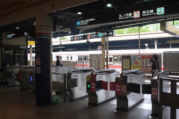 東京メトロ丸ノ内線 四ツ谷駅 改札口