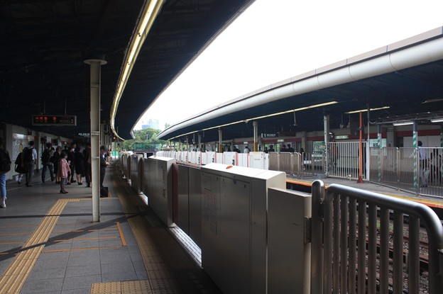 東京メトロ丸ノ内線 四ツ谷駅 ホーム