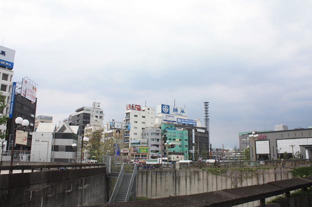 四ツ谷駅前の風景