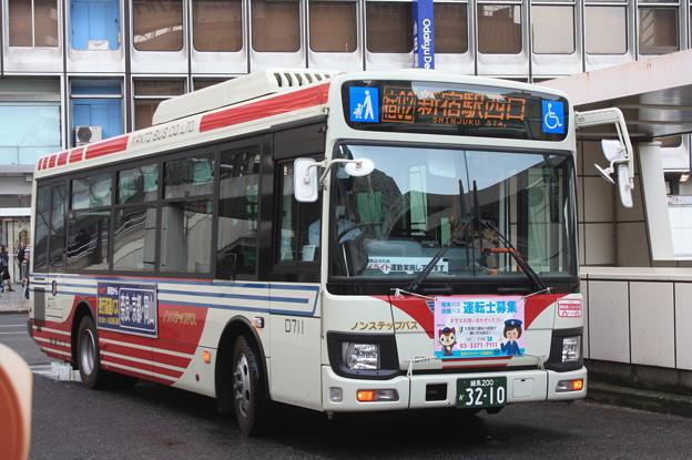 関東バス 新型エルガミオ D711