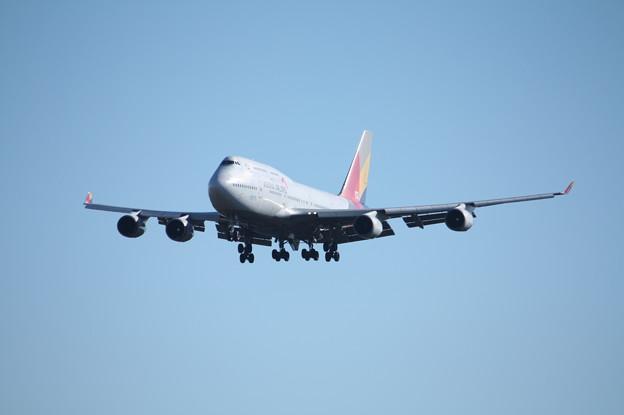 アシアナ航空 ボーイング747-400 HL7423