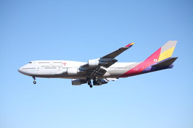 アシアナ航空 ボーイング747-400 HL7423 (2)